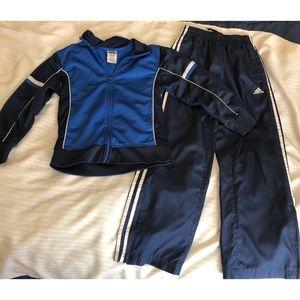 Athletic Works Adidas Boys Jacket Pants Size 8